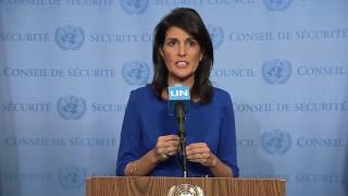 Nikki Haley: US stands by Israel, slams UN