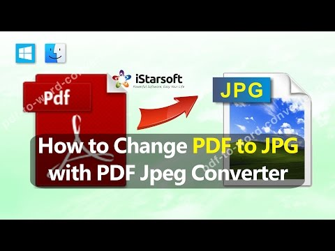 How to Change PDF to JPG with PDF Jpeg Converter