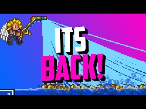 The Most Awesome Terraria Fishing Glitch Is BACK! (Fishing Glitch 1.3.5 Update)