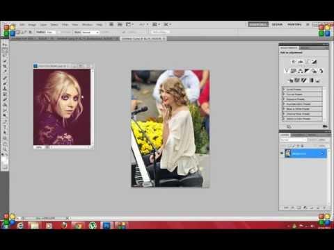 2 pictures edit (photoshop tutorial)
