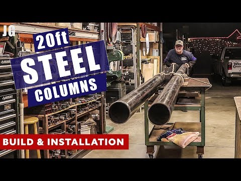 20ft Steel Building Supports | JIMBO'S GARAGE
