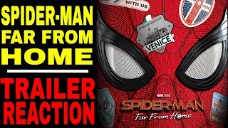 Download SpiderMan: Far From Home Trailer Reaction Video