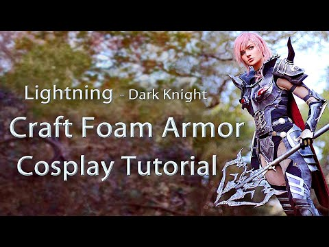 Craft Foam Armor - Cosplay Tutorial
