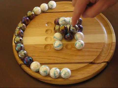 Marble Pyramid - Hardwood Board Game