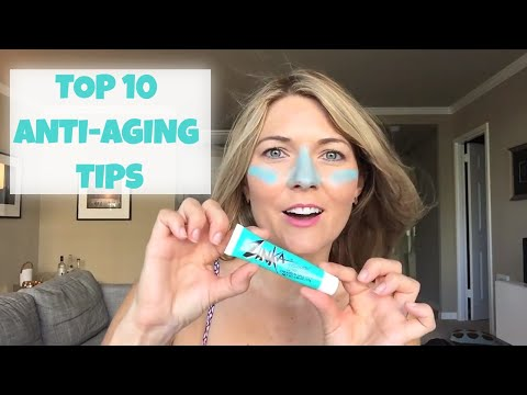 Women Over 40 - My Top 10 Anti Aging Tips