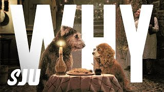 Disney+ First Looks: Does Lady and the Tramp Look Creepy?   SJU