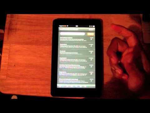 Kindle Fire - How to Send & Receive Emails​​​ | H2TechVideos​​​
