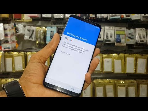 How to bypass frp S8 G955u || S8 Plus FRP verify google account s8 Bypass S8 frp lock