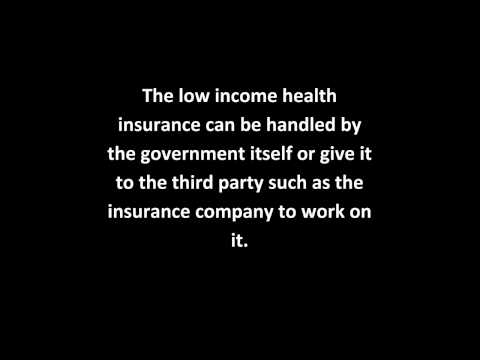 Low Income Health Insurance
