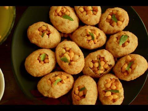Golgappa Banane Ki Recipe | Suji Ke Golgappe Recipe In Hindi | Pani Puri Recipe