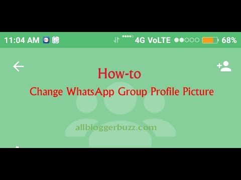How to Change WhatsApp Group Profile Picture