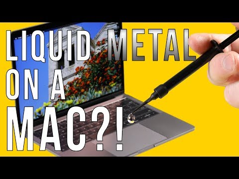 Liquid Metal in a MacBook Pro: No More Throttling!