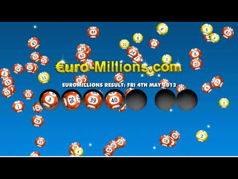 Euromillions Results for Friday 4th May 2012