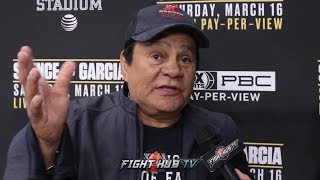 """ROBERT DURAN """"SPENCE LOOKED SKINNY & MIKEY LOOKED STRONG! MANNY PACQUIAO GET THAT MONEY!!"""""""