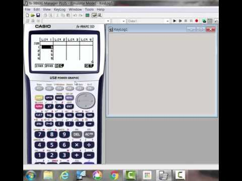 How to find the mean, median, mode with a Casio graphing calculator