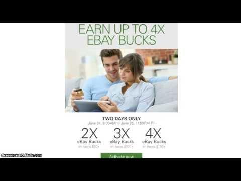1% cashback with mrrebates on PMs + *4X ebaybucks* Jun 24-25 (YMMV)