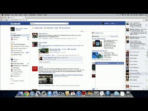 How to Make Print Smaller on Facebook Chat : Facebook Tips & Tricks