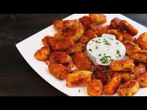 Roasted Potato & Cheese Tater Tots Recipe