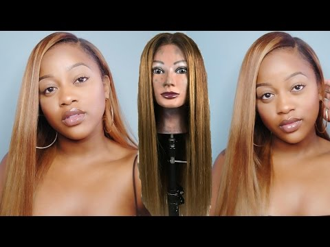 BEYONCE INSPIRED HAIR COLOR TUTORIAL Ft. SnatchedbySharmel & West Kiss Hair