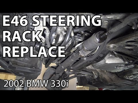 BMW E46 Steering Rack Replacement