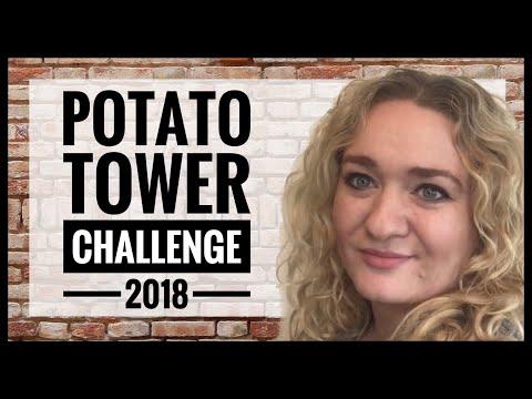 #PotatoTowerChallenge2018 - Urban Kitchen Garden - Spring Planting