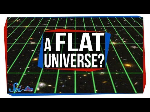 How Can the Universe Be Flat?