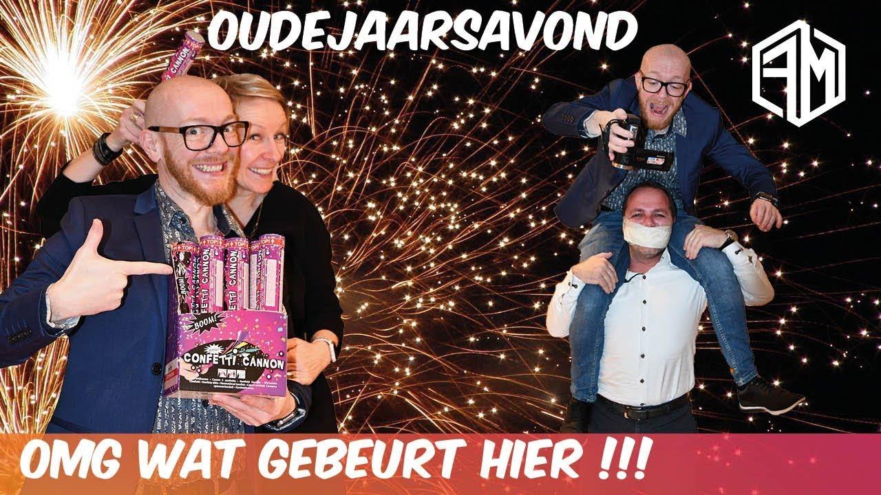 PAKJES SPEL OP OUDERJAARSAVOND - Familie Meerschaert vlog