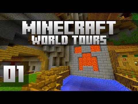Minecraft World Tours - Ep. 1: ETHOSLAB! (Minecraft 1.12)