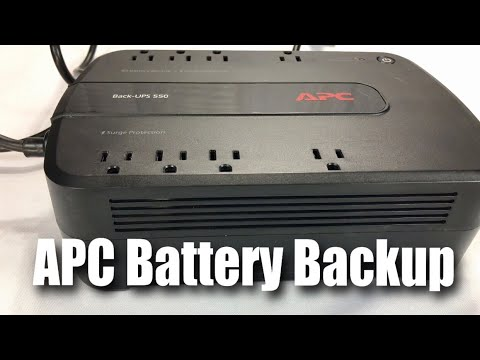 APC Back-UPS 550VA UPS Battery Backup & Surge Protector (BE550G) Review