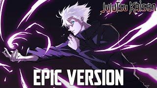 Jujutsu Kaisen: Gojo Satoru Hollow Purple Theme   EPIC VERSION (Besto Quality)