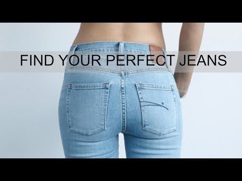 HOW-TO FIND THE PERFECT JEANS FOR YOUR BODY TYPE: Closet tips from a stylist