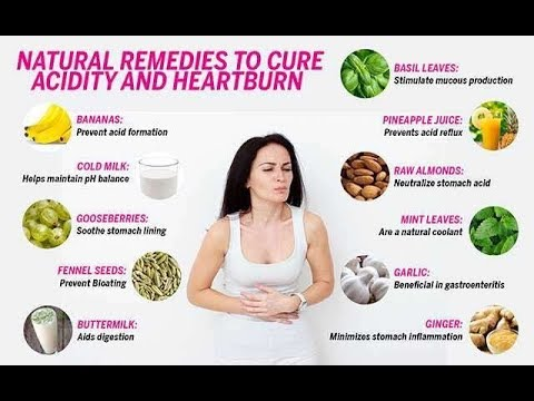 How to get rid of acid reflux naturally