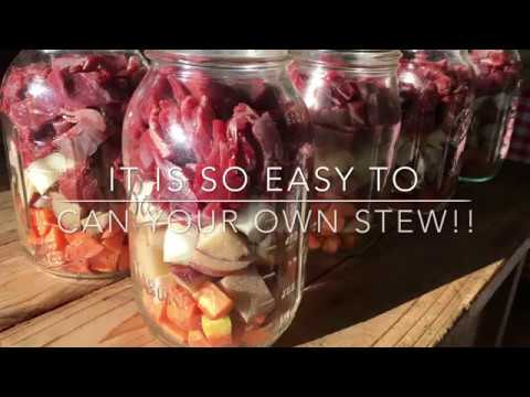 Canning Stew: Make Your Own Convenience Food: Homesteading Family