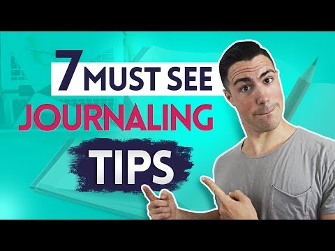 The 7 BEST Journaling Tips of ALL Time - How to Keep A Journal