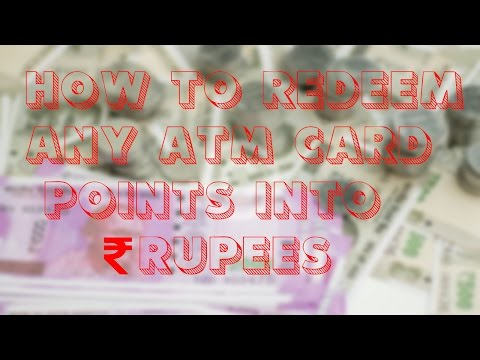 How to Redeem any ATM Card Points and Convert it into Rupees