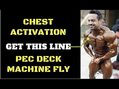 Get the UPPER CHEST LINE | MACHINE FLY VARIATIONS
