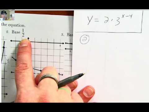 Writing Exponential Equations from Graphs
