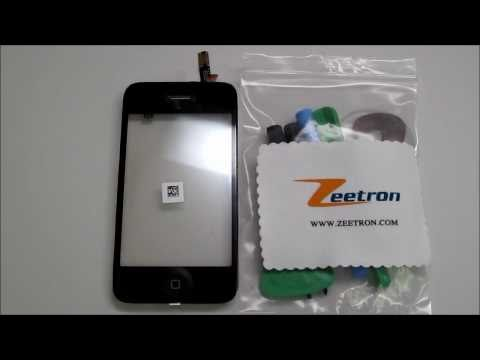 iPhone 3G/3GS Digitizer Assembly (Fix Cracked Screen) By Zeetron