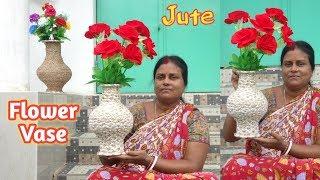 Download Home Decor DIY-HomeCrafted Flower vase || Easy handcraft-COTTAGE ART Video