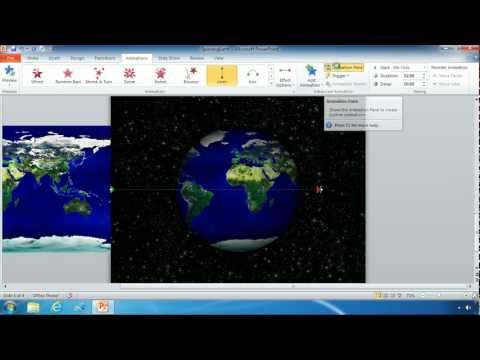 Animate an Image in PowerPoint 2010