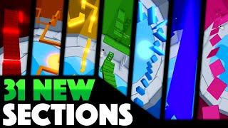 31 NEW SECTIONS in Tower of Hell (Game Update) | Roblox