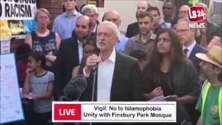 Finsbury Park Vigil: Moving and inspiring speech by Jeremy Corbyn