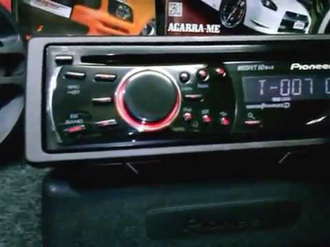 Pioneer Auto Radio Cd Mp3 Usb Deh 2250Ub 2 Rca Aux