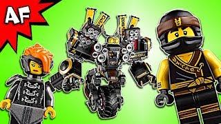 Lego Ninjago Movie: QUAKE MECH 70632 Speed Build
