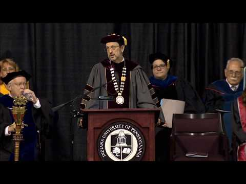 IUP Undergraduate Afternoon Commencement Ceremony, Spring 2018