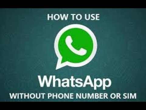 Create WhatsApp with out phone number