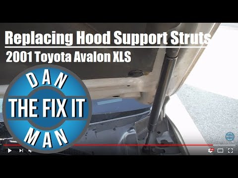 2001 Toyota Avalon - Replacing the Hood Support Struts