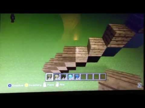 Minecraft how to - Make a diamond Pickaxe statue.