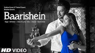 BAARISHEIN Song   Arko Feat. Atif Aslam & Nushrat Bharucha   Full Lyrical Video