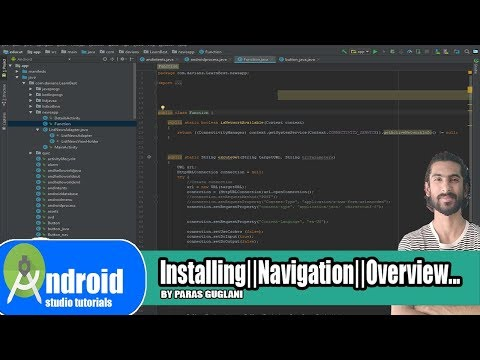 #1 A Tour Of The Android Studio||Installing|| User Interface||Elements Of Main Window...